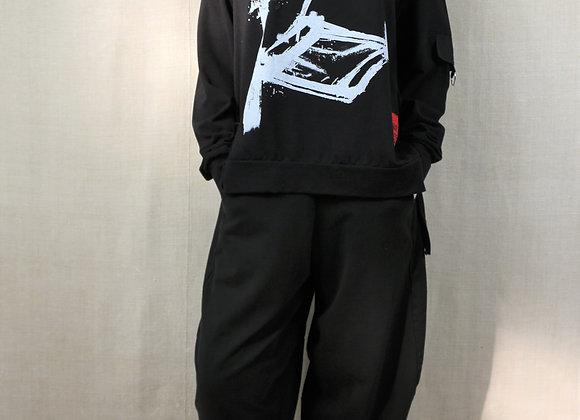 Graffiti Print Sweatshirt BL23