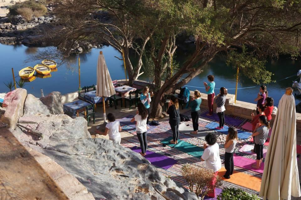 yoga in egypt