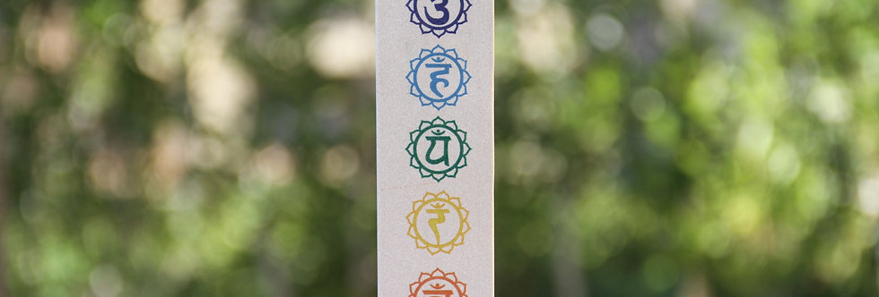 Incense Burner • 7 Chakras