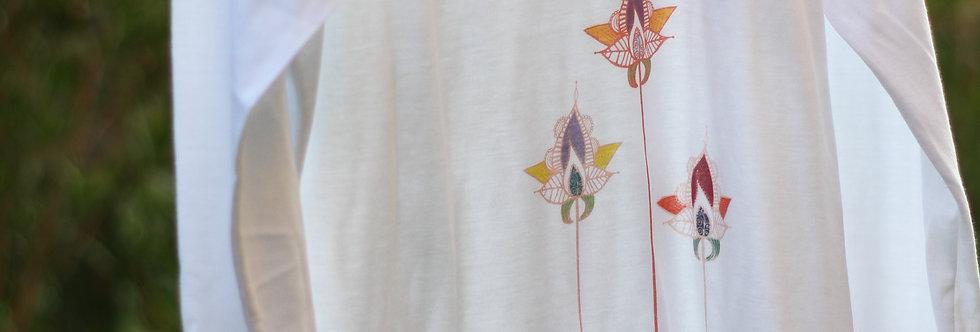 Floral Mandalas Long-sleeve T