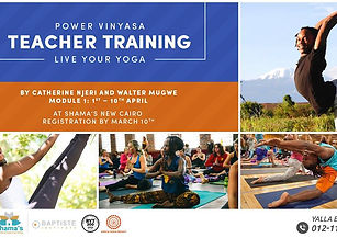 Power Vinyasa 200hr Teacher Training pow