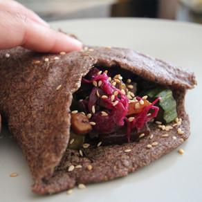 Mimi's Vegan Kitchen: Flax Wraps
