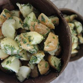Mimi's Vegan Kitchen: Rosemary potato salad