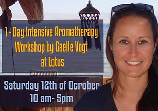 1 - Day Intensive Aromatherapy Workshop.