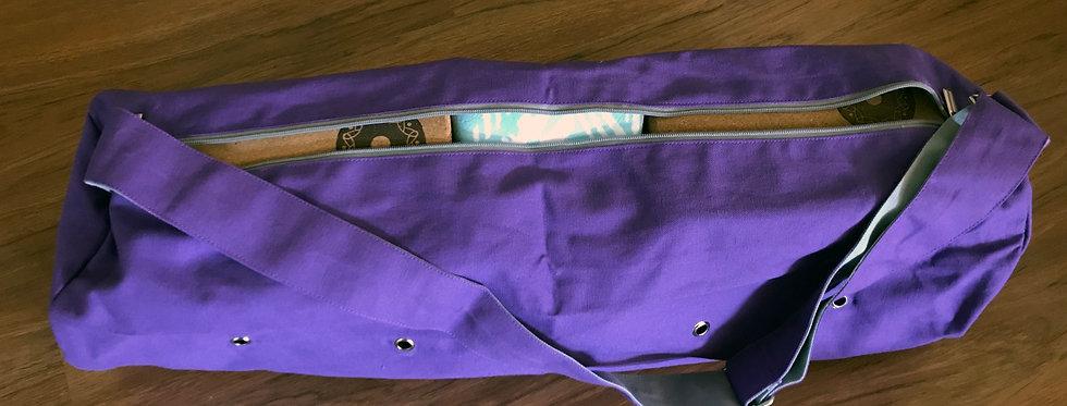 Yoga Mat Bag Purple