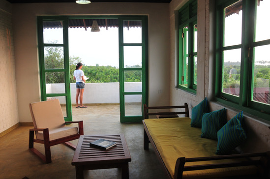 Upstair living area and balcony - Bulu v