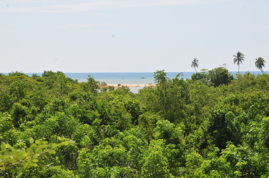 View of sea from balcony - Bulu villa.JP