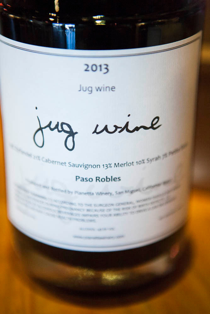 Jug Wine Party at Pianetta Winery