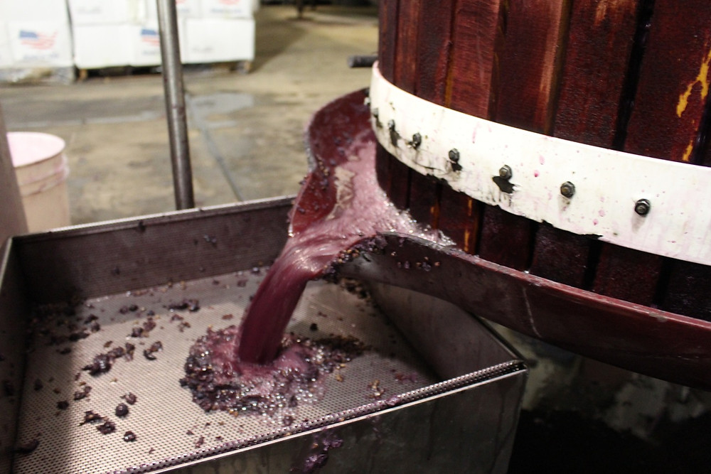 Pressing Pianetta Estate Cabernet