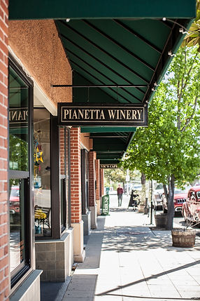 Pianetta Tasting Room in Downtown Paso Robles