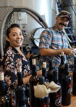 Pouring Wines at Pianetta Palooza