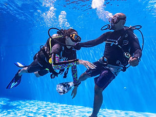 Praydive discover scuba try dive