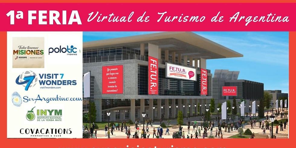 Inauguración de 1a Feria Virtual de Turismo de Argentina FETUR