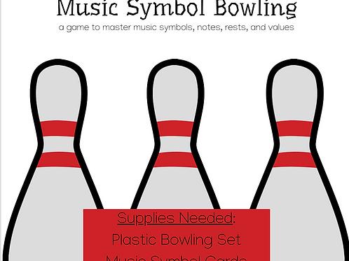 Music Symbol Bowling Game
