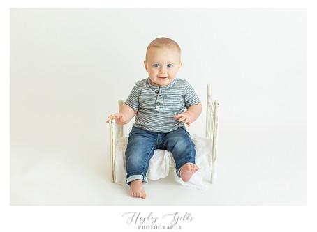 Jaxson   6 month session   Hayley Gibbs Photography   Snead, Alabama