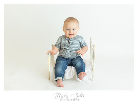 Jaxson | 6 month session | Hayley Gibbs Photography | Snead, Alabama
