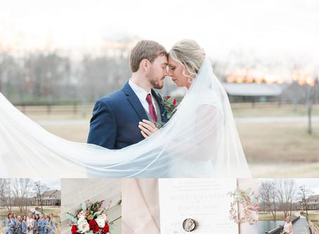 Josh & Hollie | Southern Stone Bridge Farm Wedding in Cullman, Alabama
