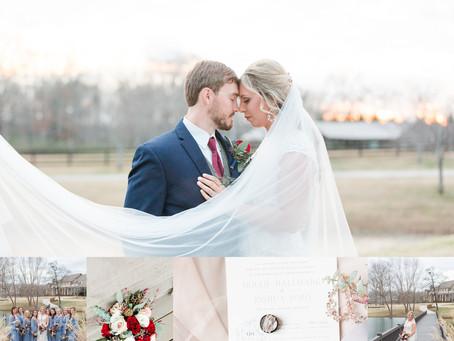 Josh & Hollie   Southern Stone Bridge Farm Wedding in Cullman, Alabama