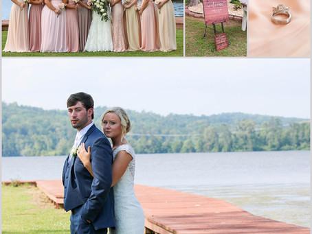 Blake & Ashley   Guntersville, Alabama Wedding