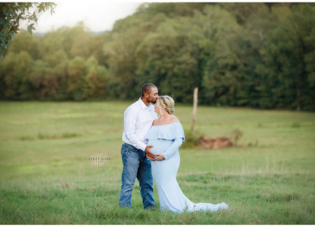 Brown Family   Maternity   Marshall County Portrait Photographer  