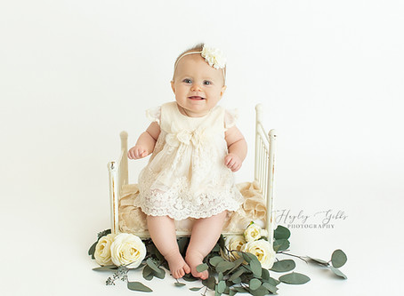 Ruby   6 month session   Hayley Gibbs. Photography