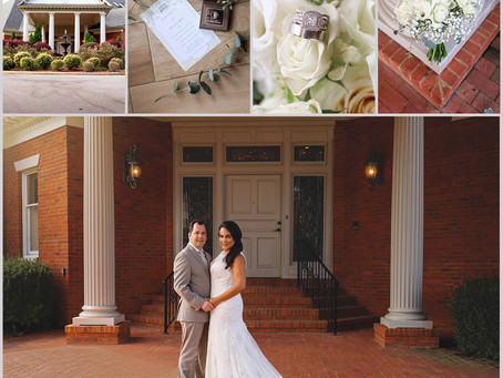 Brandon + Eve | Alabama Wedding Photographer | Curls and Pearls Photography