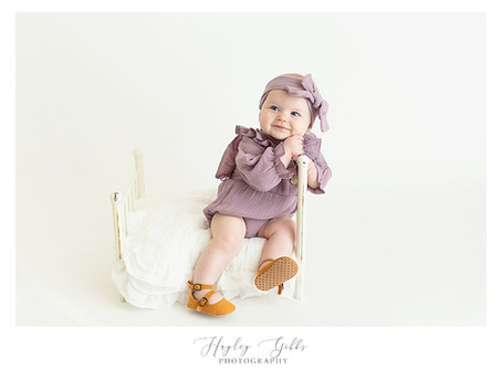 Callie   6 month session   Hayley Gibbs Photography   Snead, Al Photographer