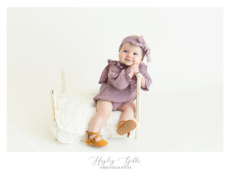 Callie | 6 month session | Hayley Gibbs Photography | Snead, Al Photographer
