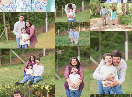 Dodd Family Session | Alabama Family Photographer