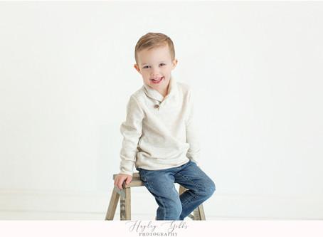 My Kiddos | Spring Studio Portraits | Hayley Gibbs Photography | Snead Alabama Photographer