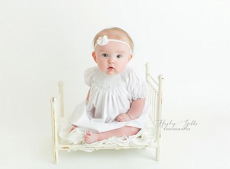 AJ   6 month session   Hayley Gibbs Photography   Snead Alabama Photographer