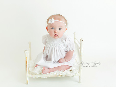 AJ | 6 month session | Hayley Gibbs Photography | Snead Alabama Photographer