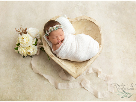 Newborn Photographer in Snead Alabama | Hudak Family