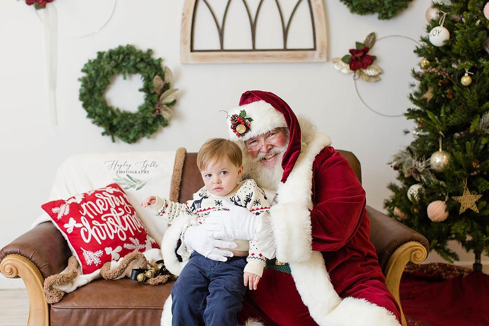 Hayley Gibbs Photography | Santa Mini Session
