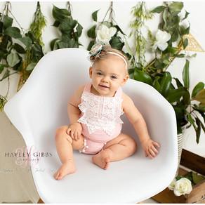 Haven | Cake Smash | Marshall County Newborn & Baby Photographer