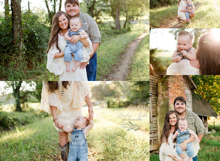 Moore Family Session | Hayley Gibbs Photography | Albertville, AL Photographer