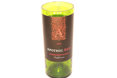 Red Wine Bottle Candle