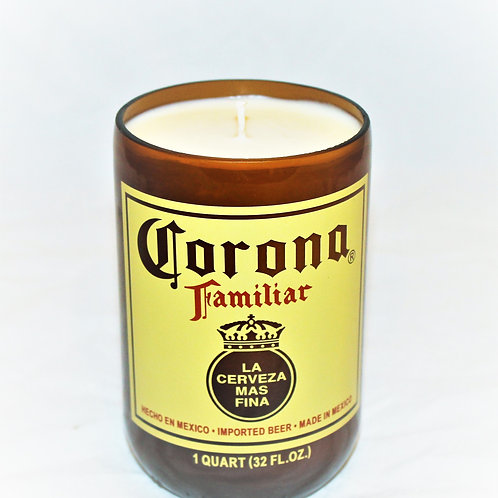 Corona Beer Bottle Candle