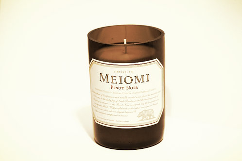 Short Wine Candle