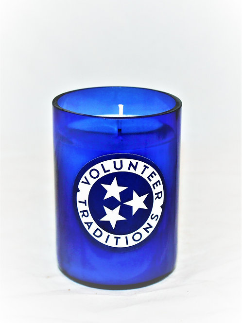 Volunteer Traditions Sticker Candle