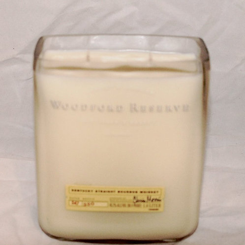 Woodford Reserve Liquor Bottle Candle