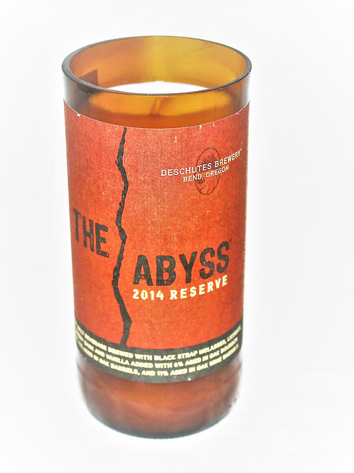 The Abyss Beer Bottle Candle