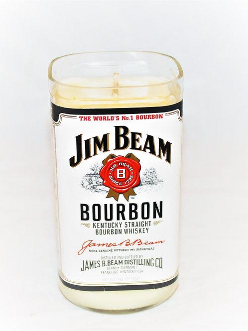 Jim Beam Liquor Bottle Candle