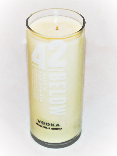 42 Below Vodka Bottle Candle