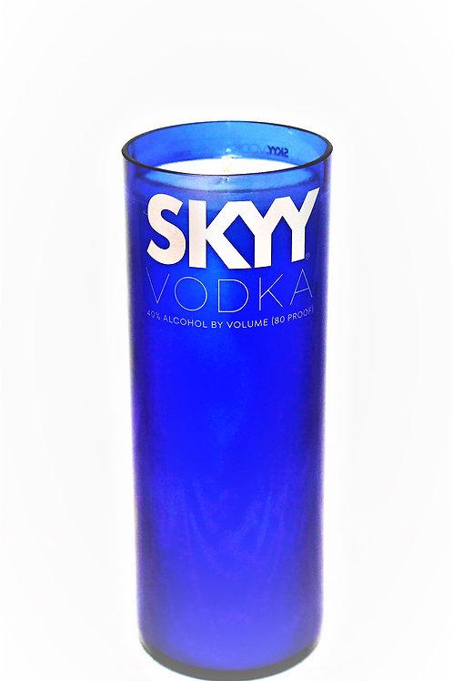 SKYY Vodka Bottle Candle