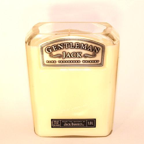 Gentleman Jack Liquor Bottle Candle