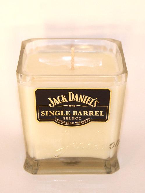 Jack Daniel's Single Barrel Liquor Bottle Candle
