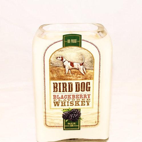 Bird Dog Whiskey Liquor Bottle Candle