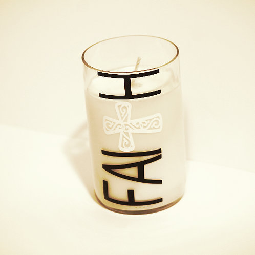 Veritcal FAITH Candle