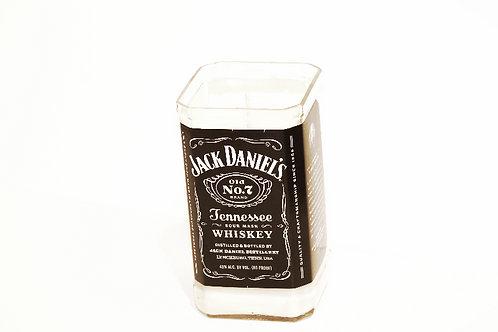 Black Label Jack Daniel's Liquor Bottle Candle